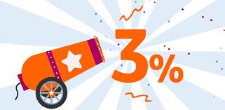 Conto arancio 3%