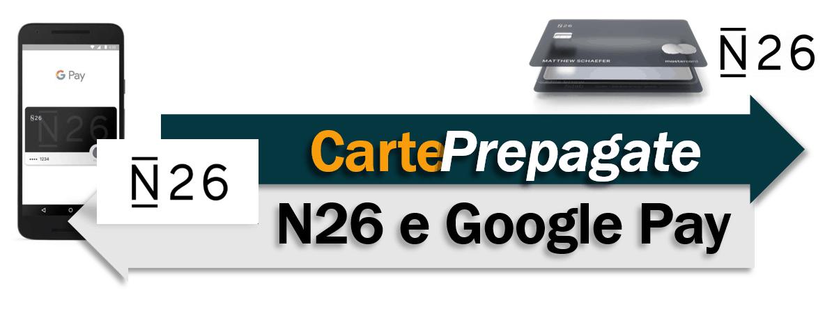 N26 e Google Pay
