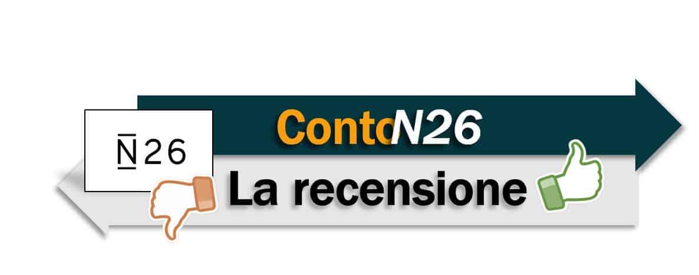 conto n26 recensione