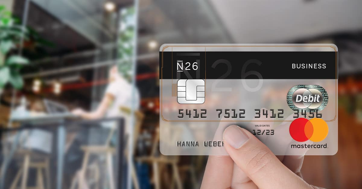 conto N26 carta bancomat
