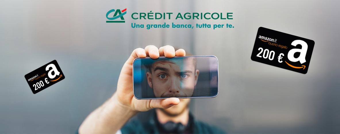 Promozione Conto Easy Amazon: un mare di regali con Crédit Agricole