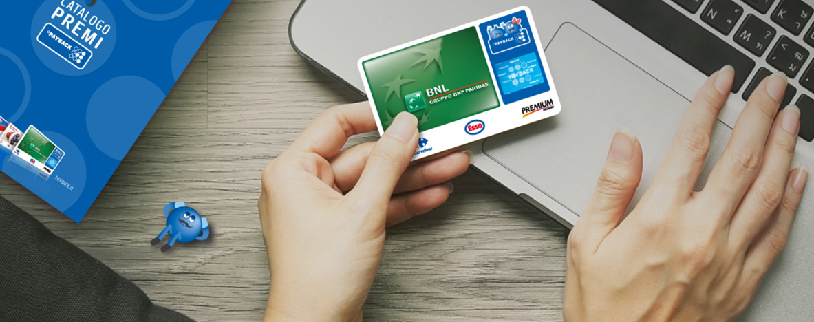 Carta Payback con BNL