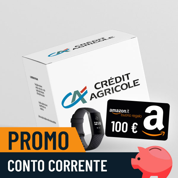 100€ di Buoni Amazon e Fitbit Charge 3 con Conto Easy