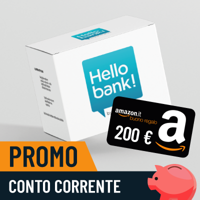Hello! Money: 200€ di Buoni Amazon se presenti un amico