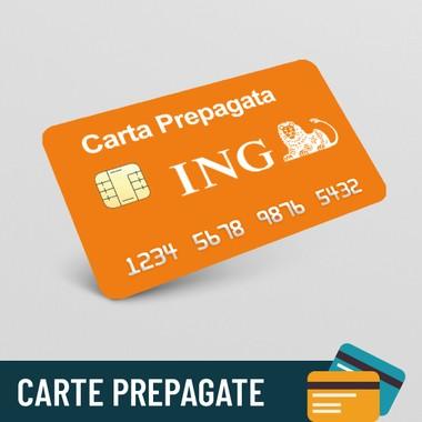 Carta prepagata ING