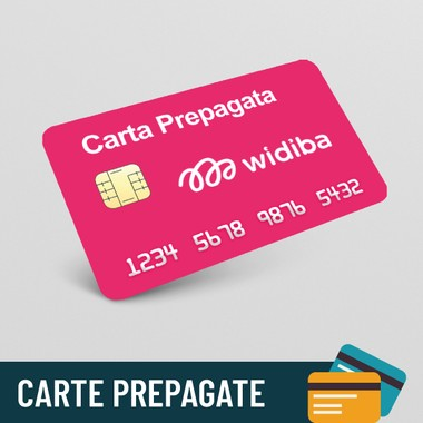 Carta prepagata Widiba Maxi
